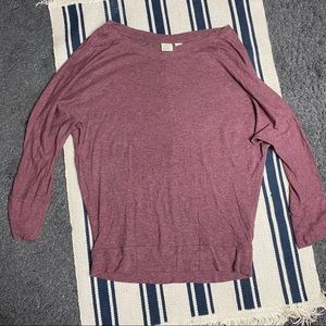 Lucy & Laurel Long Sleeve Top Size M